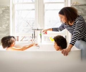 Bradford White Newsroom Article Kids In Bathtub